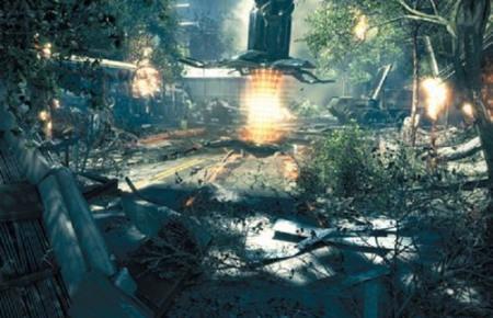 外星森林场景3d