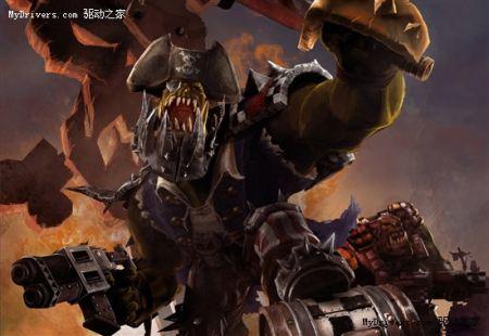 《战锤40K:战争黎明3》艺术图