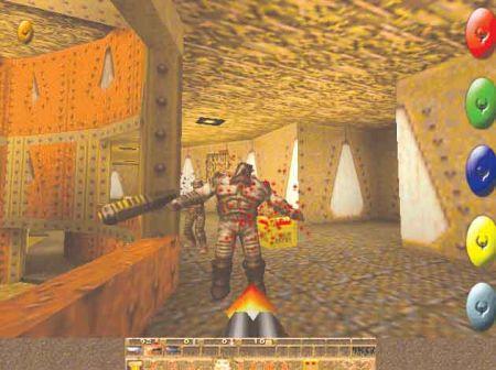 Quake。第一个真3D的FPS