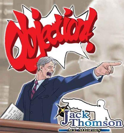 玩家们设计出的《皇牌律师――捷克汤姆森》封面