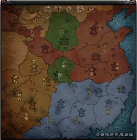 网络游戏《易三国》势力大战全面展开