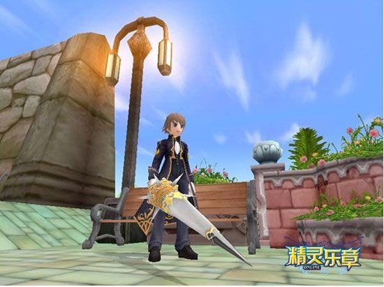 骑士勇气长矛让你看起来帅气十足!