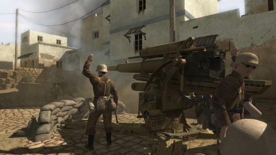 其实对于死不了的NPC来说,就算挨一下88炮也是鸭梨不大呀!