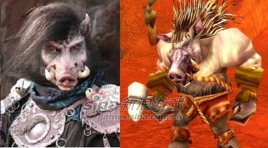 钢鬓野猪人
