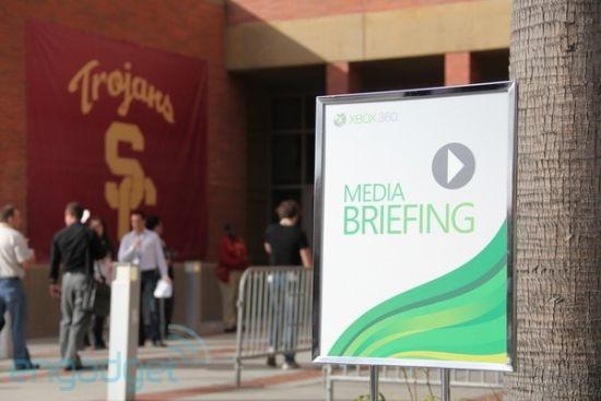 微软E3发布会现场