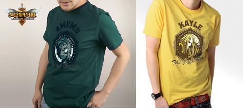 《英雄联盟》2011年新版短袖T恤