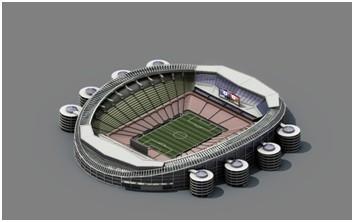 3D的球场,可不断升级