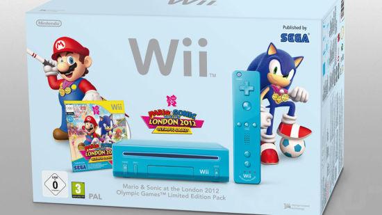 冰蓝色版Wii主机