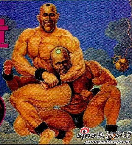 世界上最年长的游戏角色:超兄贵系列中的サムソソ和他的弟弟,都有