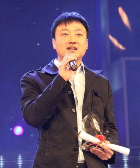 新浪游戏事业部副总经理杨振发表获奖感言