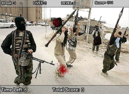 各种恐怖分子