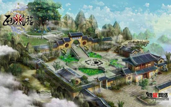 游戏场景 欧式宫殿