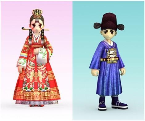 中式婚礼披风类: 中式婚礼披风为传统的中国古代婚服效果,以红色为主