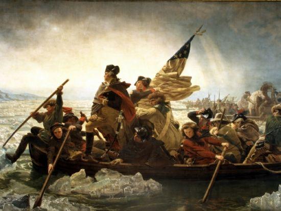 华盛顿穿越特拉华河