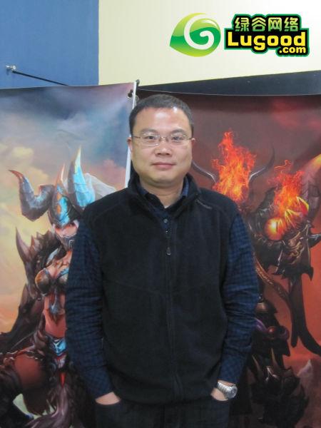 绿谷网络CEO 胡钧