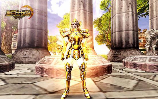 《圣斗士传说》双鱼座黄金圣衣