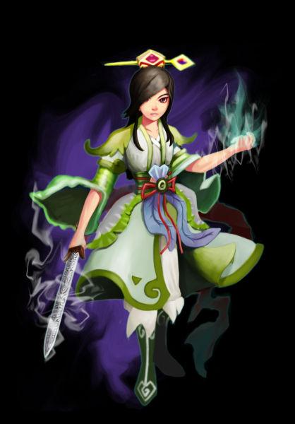 修仙女人物图片