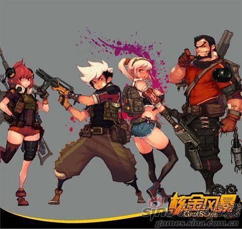 《核金风暴》4名角色