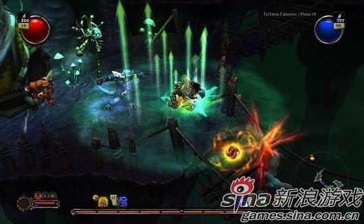 火炬之光2游戏画面