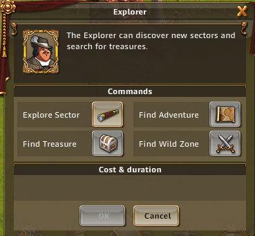 有探索、寻宝、寻找冒险和寻找未开发地区等功能