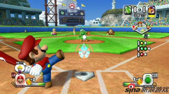 Wii代表游戏:马里奥棒球