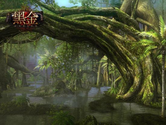 《黑金》巨树沼泽场景截图