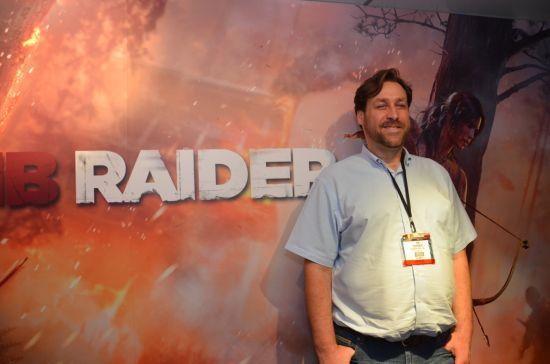 《古墓丽影9(Tomb Raider)》执行制作人Ron Rosenberg