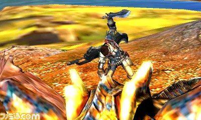 游戏搭载了新的高低差要素和动作,猎人甚至可以骑到怪物上进行攻击