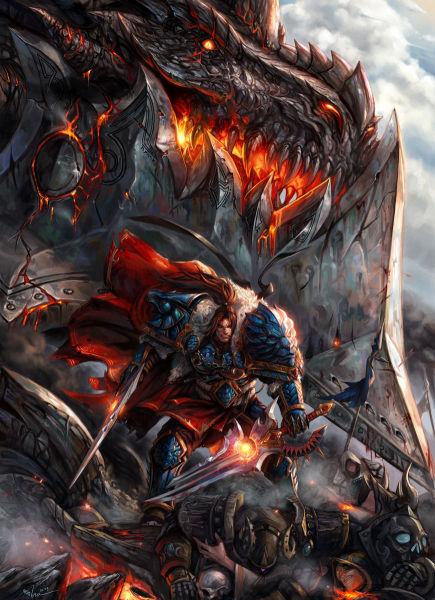 魔兽世界人类首领瓦里安·乌瑞恩详细介绍
