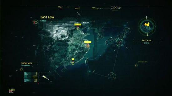 Cordis Die组织的卫星图