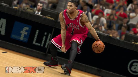 《NBA 2K13》首批截图