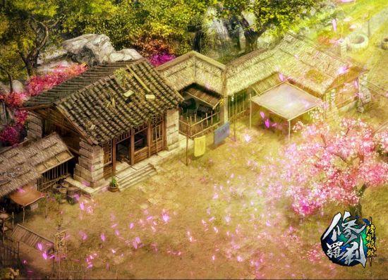 降龙谷桃花园