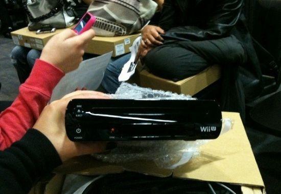 任天堂黑色版Wii U真机