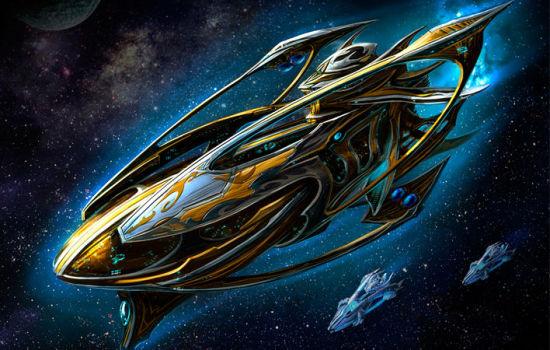 星际争霸2 神族 logo矢量图