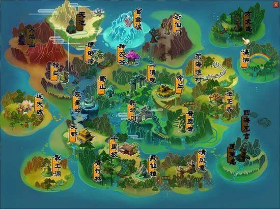 天地劫地图