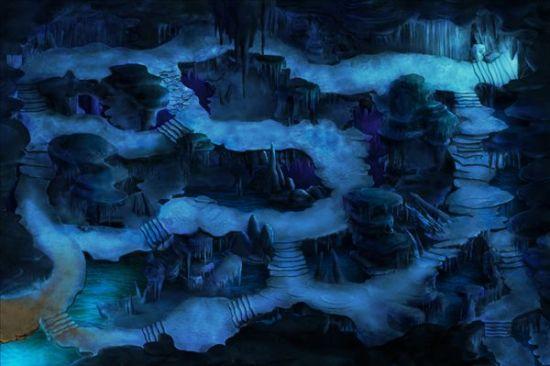 网游《忍者世界》秘密基地地图大曝光