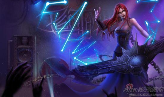 《英雄联盟》女英雄琴仙索娜