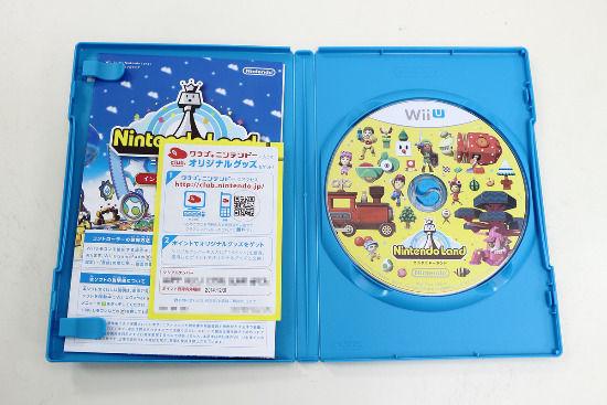 WiiU游戏《任天堂乐园》开盒照