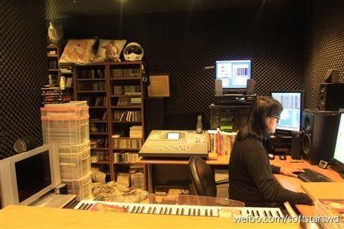 《轩辕剑》系列音乐制作人毛兽,不光作曲水平很高,其实人也很好相处