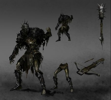 《黑暗之魂2》设定图