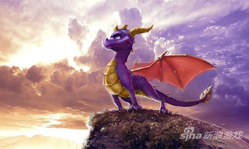 《小龙斯派罗》的主角Spyro