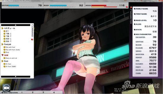 日本成人游戏《Custom Maid 3D》