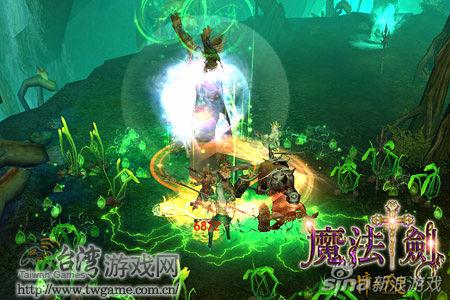 魔法剑-佣兵天下Online