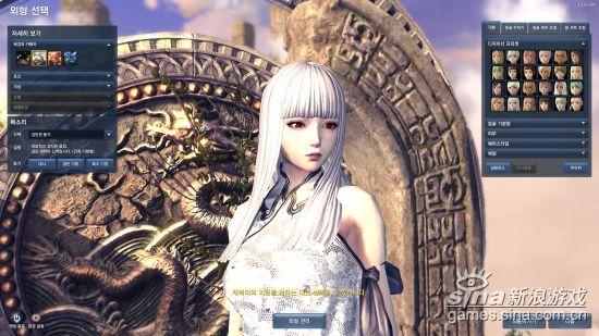 剑灵天族五大款式美女捏脸数据敬献