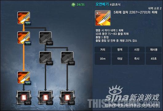五连斩 (4级 1初式)