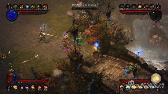 《暗黑破坏神3》PS3版画面