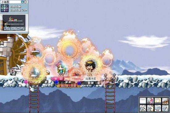 图2:冒险岛游戏截图