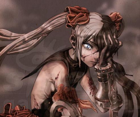 剑灵火炮兰掉落服装恶之花手绘组图赏