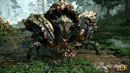 《怪物猎人ol》今日封测 新手教学视频放出