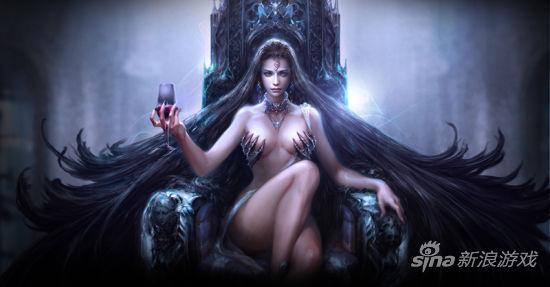 霸气外露的暗影女王